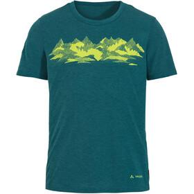VAUDE Picton - Camiseta manga corta Hombre - Azul petróleo
